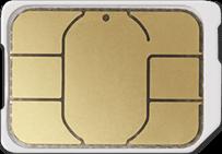 nanoSIMカード